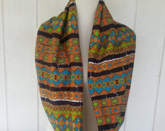 Infinity Scarves - Scarves - Accessories - Aztec Print - Scarf - Loop Scarves - Tribal Print