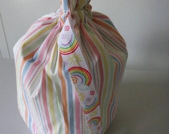Rainbow Draw String Bag