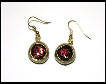 Pair earrings mechanical mechanical love gift hang love earring
