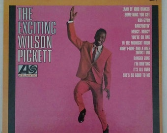 WILSON PICKETT - The Exciting Wilson Pickett,  vintage 1966 stereo album SD 8129