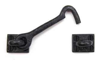 """4.5"""" Iron Cabin Hook - Solid Cast Iron"""