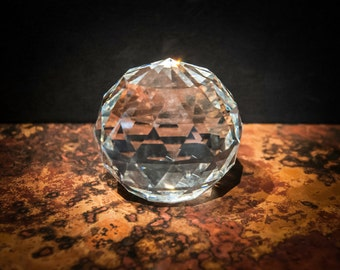 Sparkling Crystal Paperweight