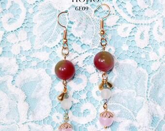 Golden Crystal Earrings GE05-GE09