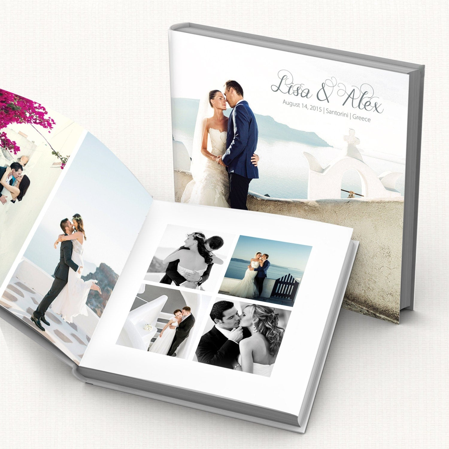 Wedding album digital template fully editable modern wedding for Wedding photo album templates in photoshop