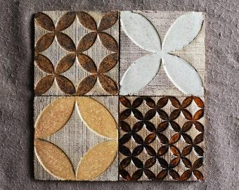 Rhomb&Circle Rustic Tiles