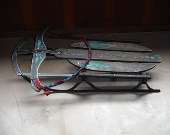 Hand painted sled