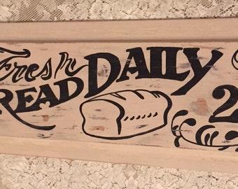 Bakery kitchen sign