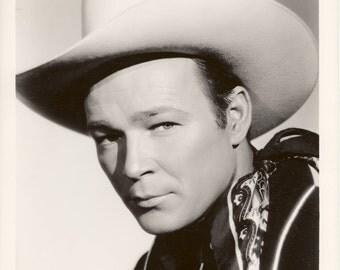 Roy Rogers Original Vintage Hollywood Publicity Photo 8x10