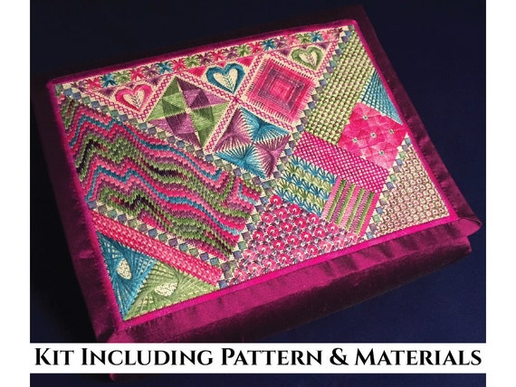 Items Similar To Canvaswork Embroidery Design  Pathways