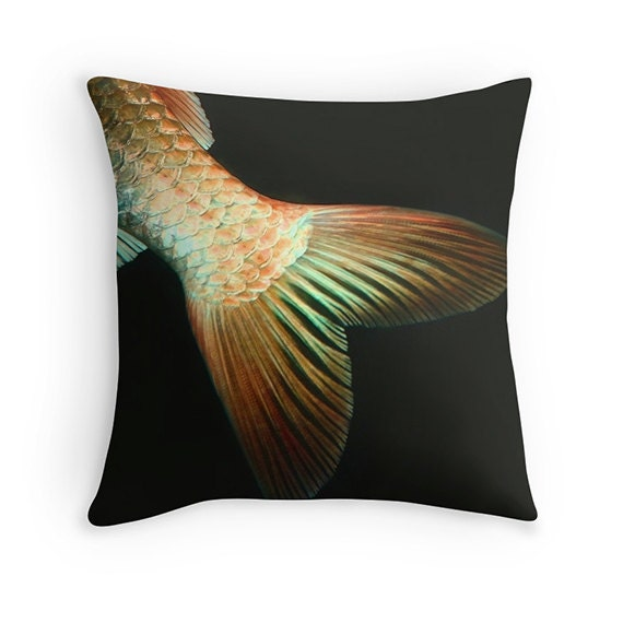 Fish pillow fish cushion goldfish koi photography pillow for Koi fish pillow