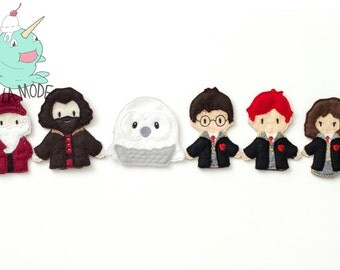 Harry Potter Inspired Finger Puppet Set