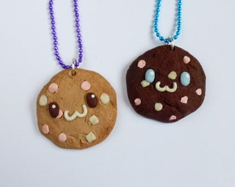 Marshmallow Cookie Necklace
