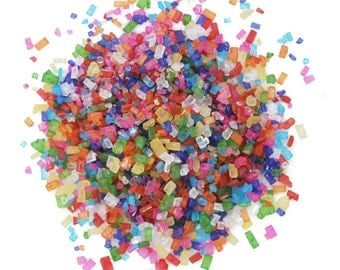 Rainbow Sugar Crystals - 16 oz - CK Products