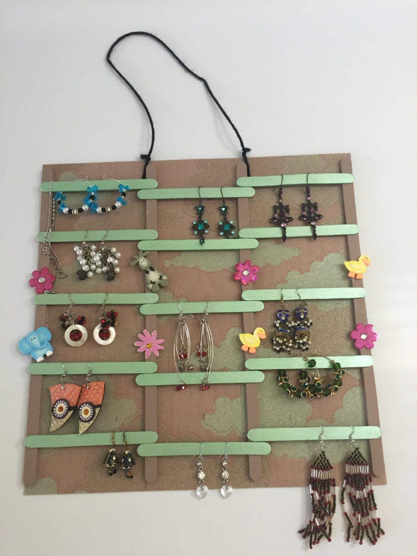hanging ear ring organizer jewelry organizer