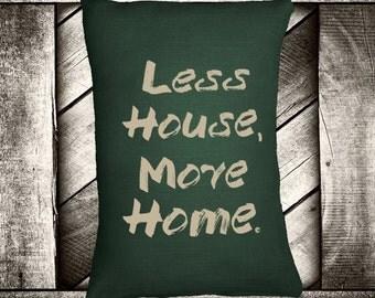 "More Home 12""x16"" Pillow Set"