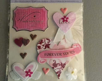 Valentines Dimensional Stickers