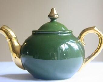 Antique SPM Walküre Porcelain Tea Pot, German, Handpainted, Siegmund Paul Meyer