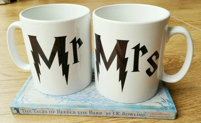Mr And Mrs Gifts Wedding: Harry Potter Mr And Mrs Gift Mug Set Wedding Gifts