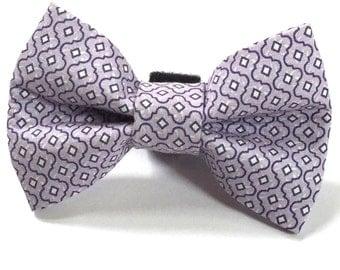 Dapper Dog in Plum Dog Bow Tie