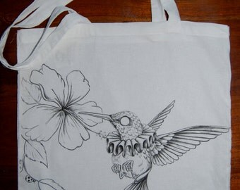 Tote bag - with a hint of animal extraordinaire