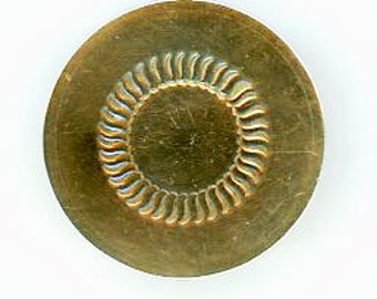 Colonial Copper Button