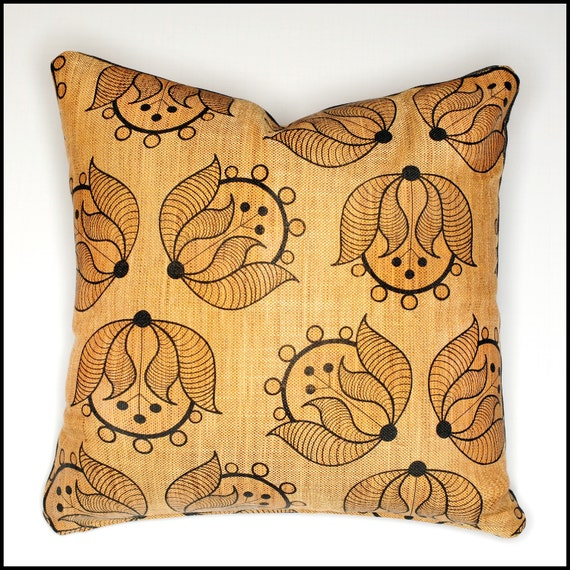 Floor Pillow Covers 25x25 : Large pillow cover eclectic design tulip pillow 25x25