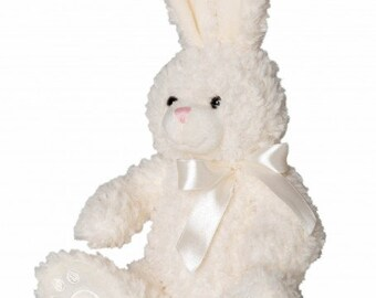 Plush rabbit cream 36 cm high