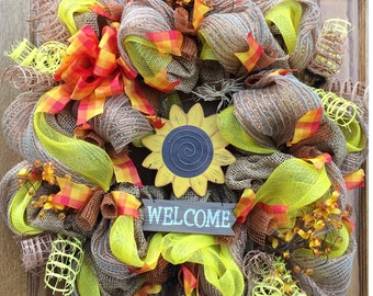 Cheery Fall Wreath