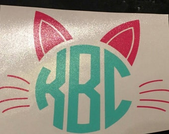Cat Decal || Kitty