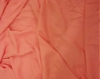 Strawberry pink polyester