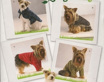 Dog Clothes Pattern Three Sizes New Sewing Pattern Simplicity 2695