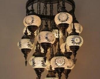 Turkish lamp,Big size lamp,Hanging lamps,Large size lamp,Ceiling lamp,Mosaik-lampe,Lampe mosaique,Turkish hanging lamp,Filigree lamp