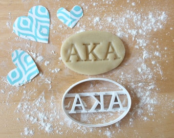 personalized greek house 3d printed cookie cutters sorority choose your greek letters