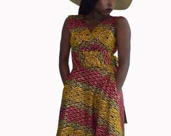 SALE - Wrap Dress