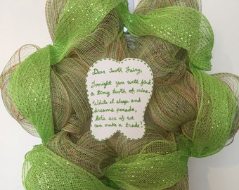Tooth Fairy Welcome Wreath