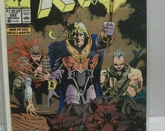 1989 Marvel Comics Uncanny X-Men #252  Vol 1 Mid November The Reavers VF-NM Unread Chris Claremont Comic Book