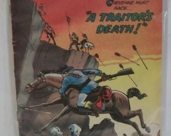 1970 Cheyenne Kid Vol.2 #81 Charlton Comics  A Traitor's Death  Fair to Good  Reading Copy Vintage Western Comic Book