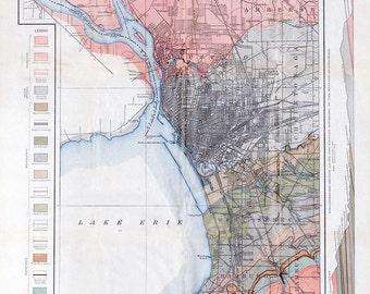 Buffalo / Niagara River Geological Map