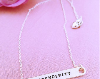 Necklace with personalized engraving plate