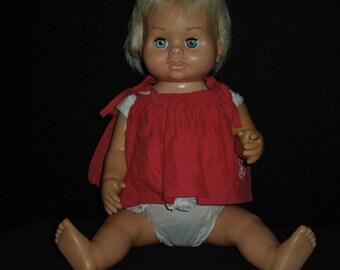 Vintage Mattel 1961 Chatty Baby Doll