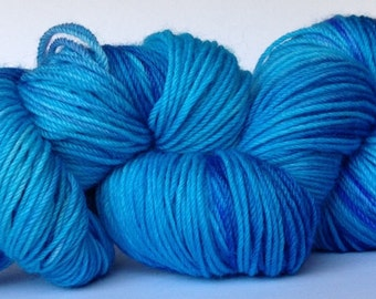 Hand dyed 4 ply wool - Dreambaby