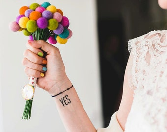 Colorful modern weddings