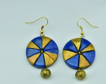 Wheel Shaped earring