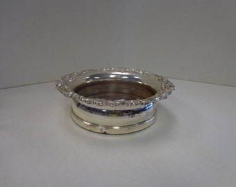 Vintage Silver Candy Dish