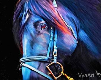 Horse Decor Horse Art Horse Painting Horse Print Equestrian decor horse wall artequestrian art horse wall art horse photography equine art