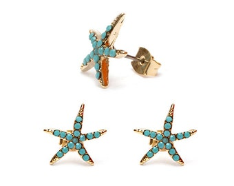 FREE SHIPPING | Summer Starfish Earring
