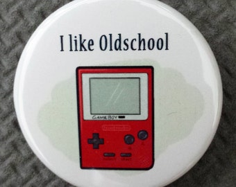 Game Boy Button
