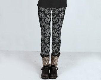 Women's paisley leggings