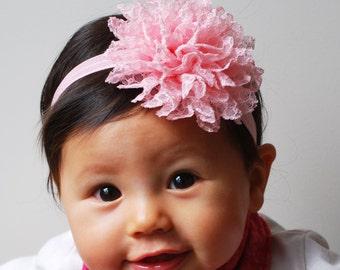Set Flower Headbands Baby Headbands Kids Hair Accessories White Blue Pink Hair Bands Flower Hairbands Girls Hair Accessories Baby Head Bands