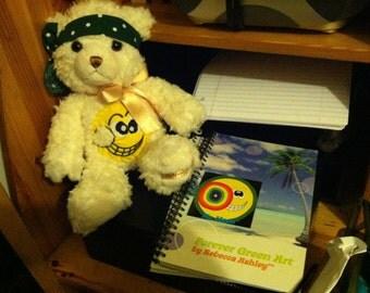 Forever Green Art Teddy Bears